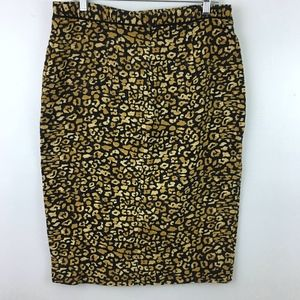 Who What Wear Skirts - Who What Wear Cheetah Print Pencil Skirt